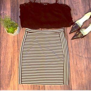 Banana Republic stretch knit a-line skirt